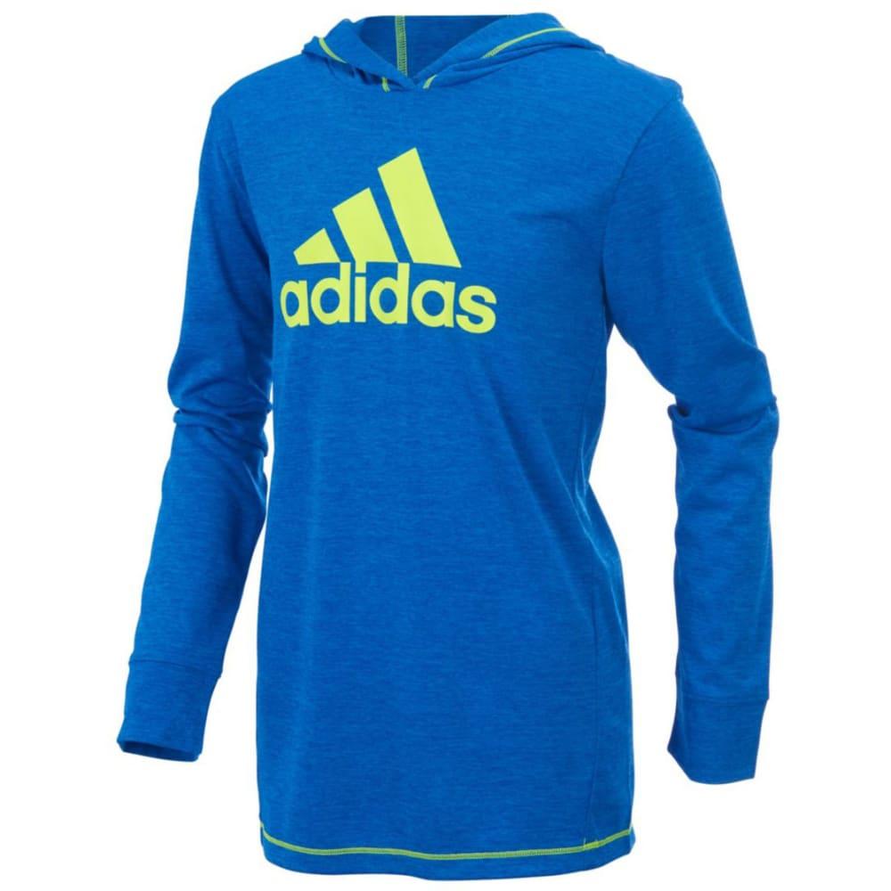 ADIDAS Boys' Coast to Coast Pullover Sweatshirt - BLUE HTR-AB20H