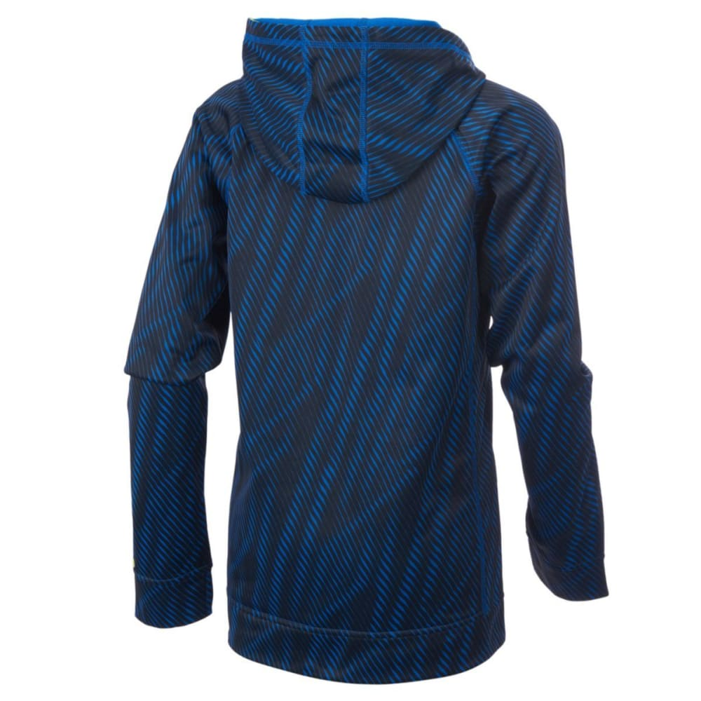 ADIDAS Little Boys' Helix Vibe Fleece Pullover Hoodie - BLUE-AB20