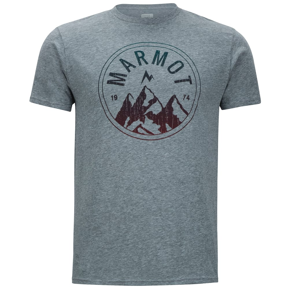 Marmot Men's Perimeter Short-Sleeve Tee Shirt - Black, M