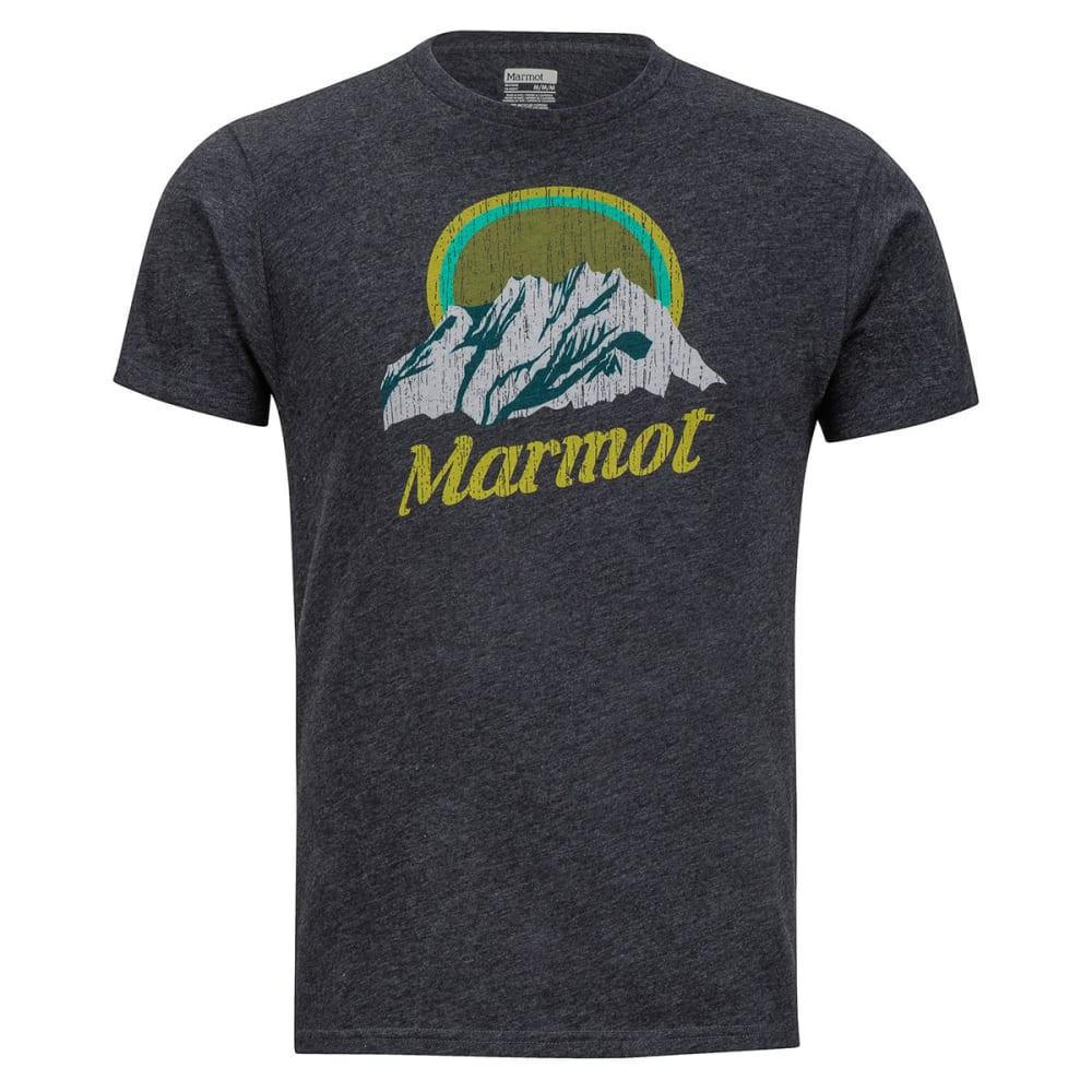 MARMOT Men's Pikes Peak Tee Short-Sleeve - 1837-NEW CHARCOAL