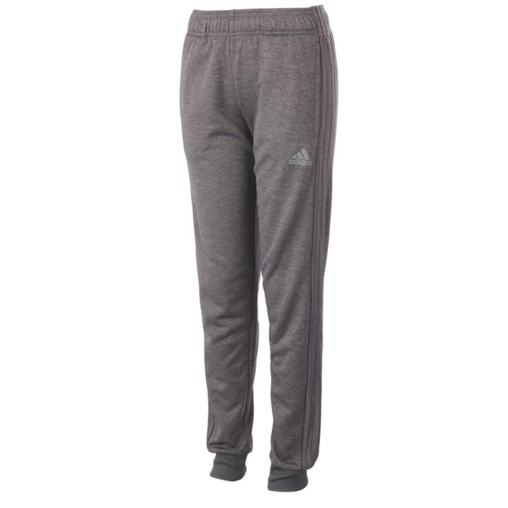 ADIDAS Boys' Iconic Indicator Training Pants - GREY FIVE HTR-AH07H