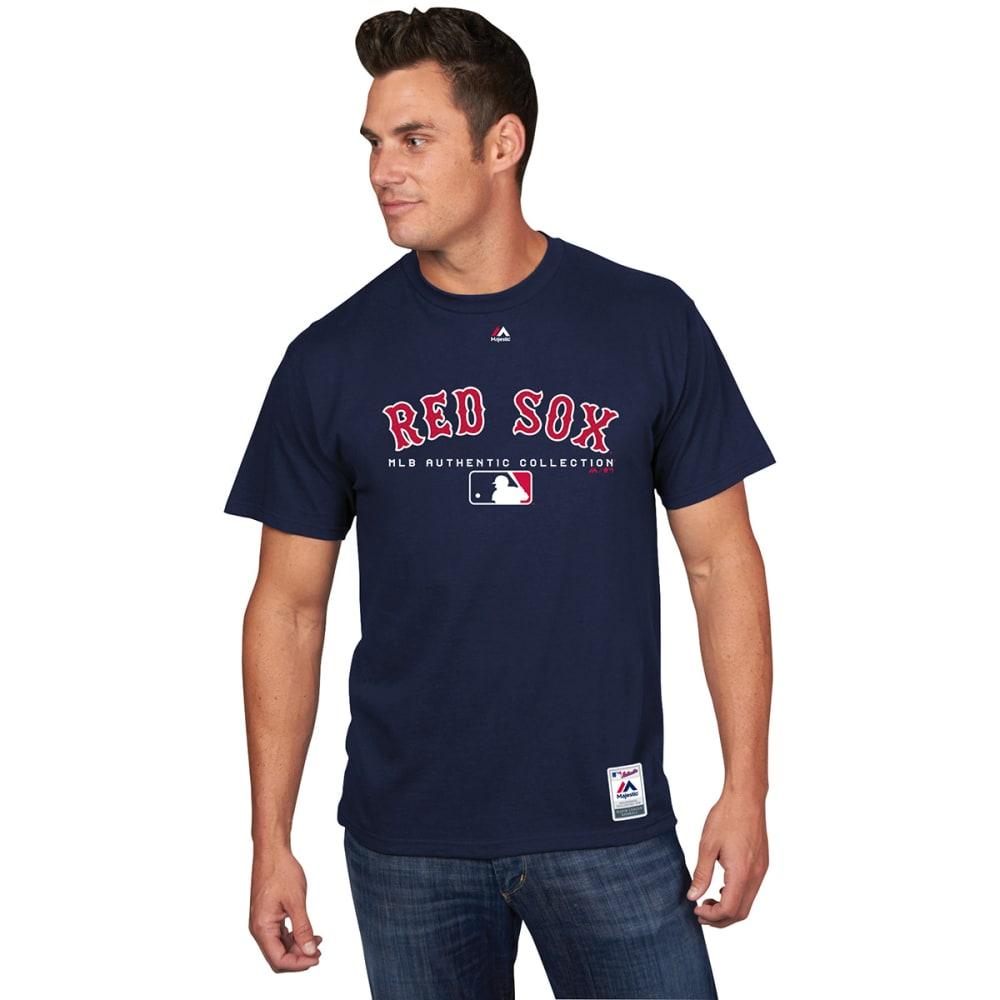 BOSTON RED SOX Men's Authentic MLB Team Drive Short-Sleeve Tee - NAVY