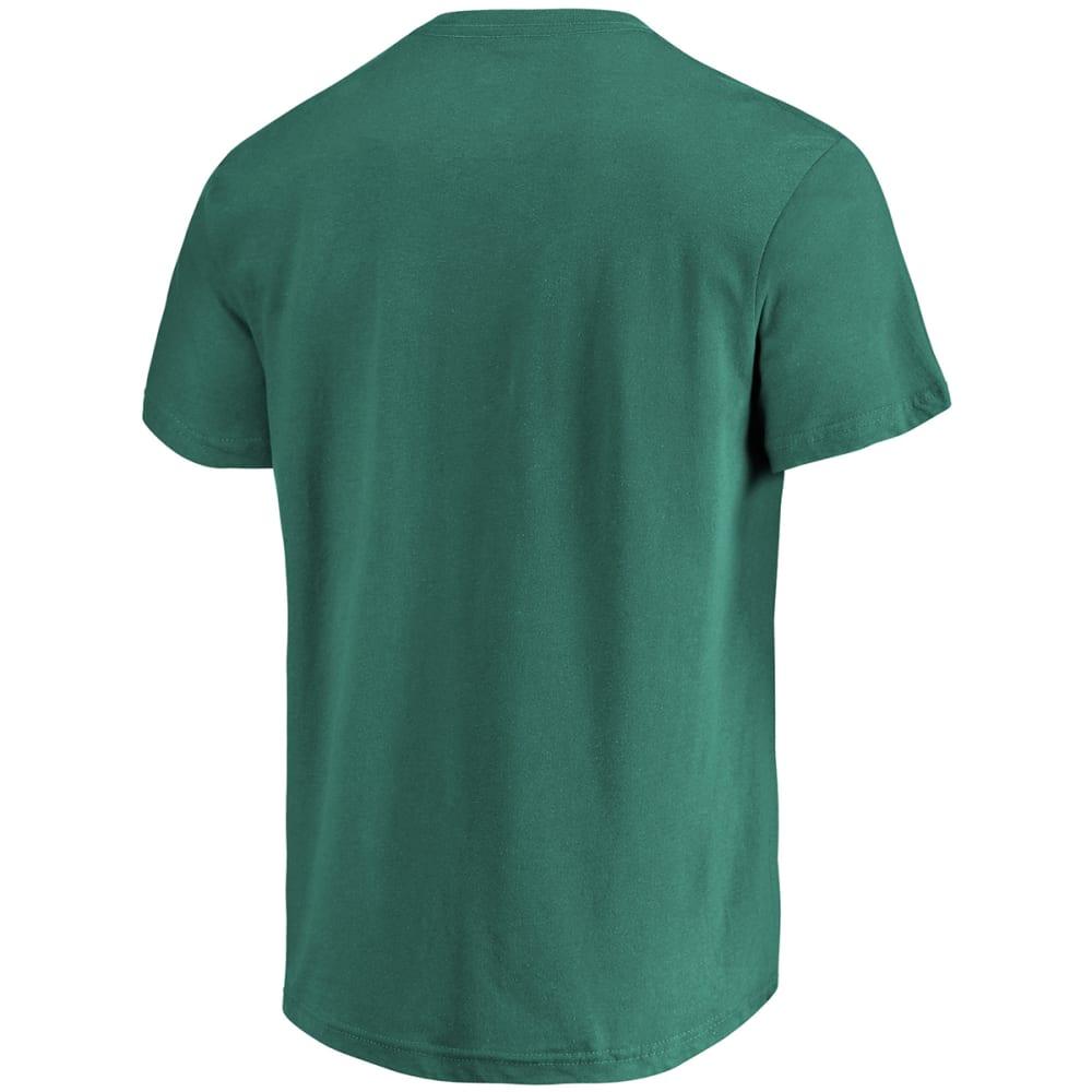 BOSTON RED SOX Men's Catching Luck Shamrock Short-Sleeve Tee - GREEN