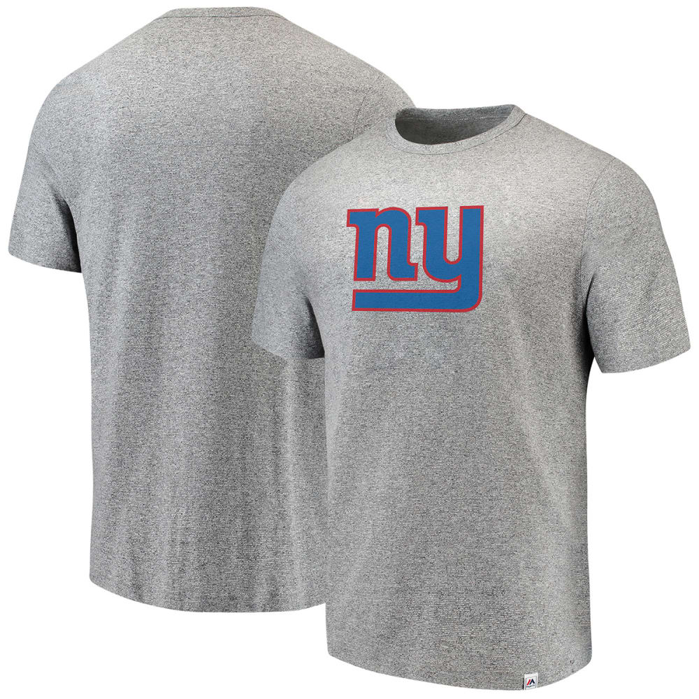 NEW YORK GIANTS Men's Power Slot Short-Sleeve Tee - GREY