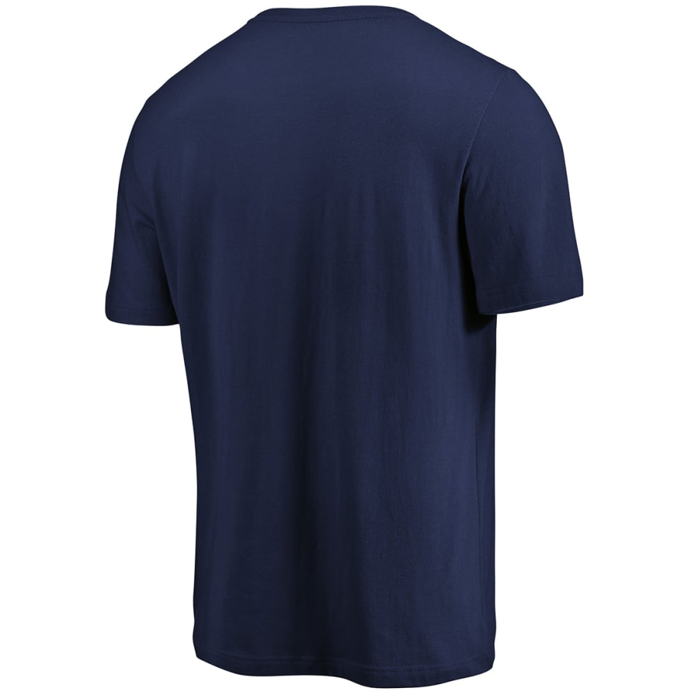 NEW YORK YANKEES Men's Precision Play Tri-Blend Short-Sleeve Tee - NAVY
