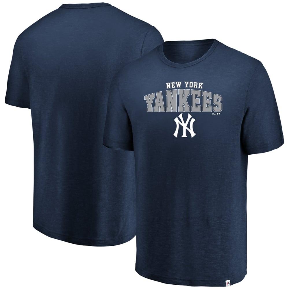 NEW YORK YANKEES Men's Reckoning Day Hyper Slub Short-Sleeve Tee - NAVY