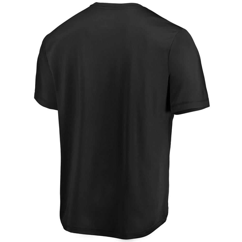 NEW YORK YANKEES Men's Winning Feeling Poly Short-Sleeve Tee - BLACK