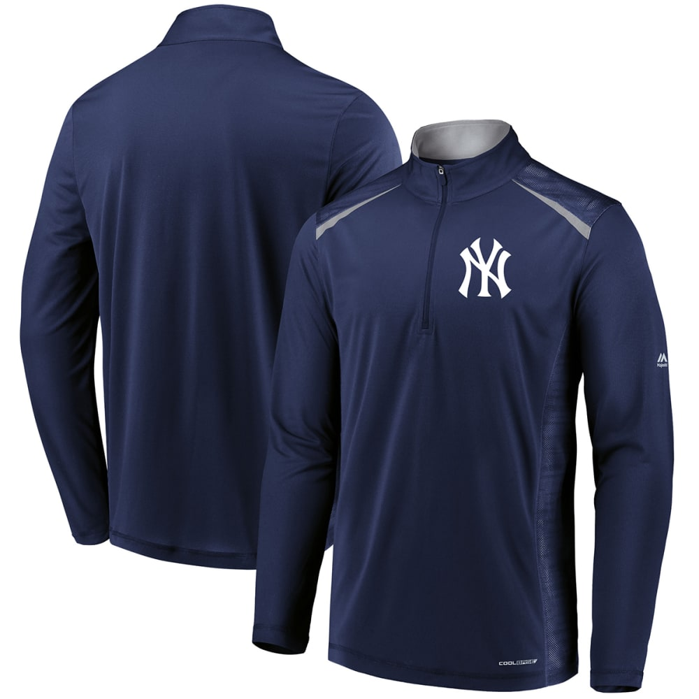 NEW YORK YANKEES Men's Perfect Moments ½-Zip Pullover - NAVY