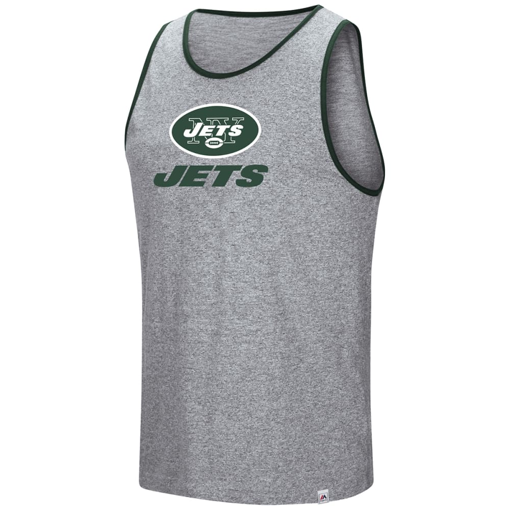 NEW YORK JETS Men's Go The Route Tank Top - GREY