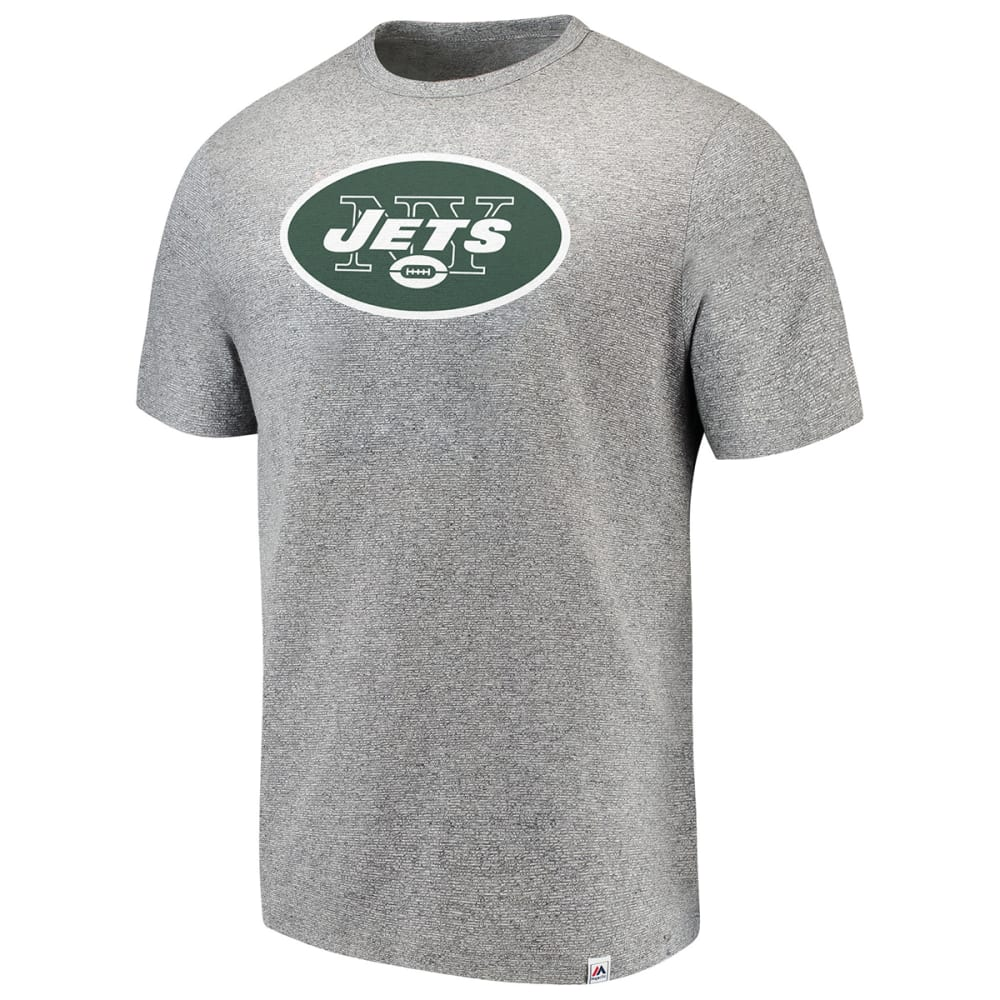 NEW YORK JETS Men's Power Slot Short-Sleeve Tee - GREY