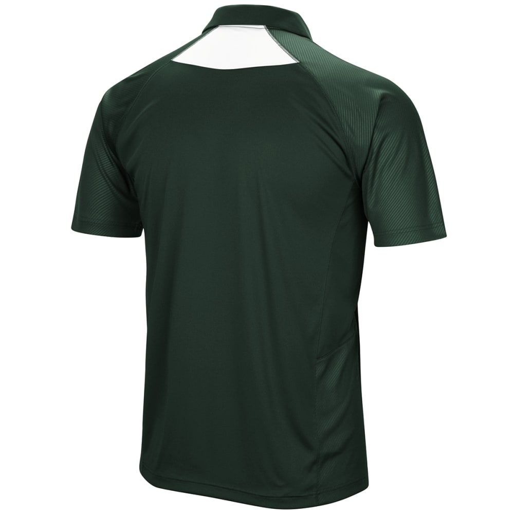 NEW YORK JETS Men's Game Day Club Poly Short-Sleeve Polo Shirt - GREEN