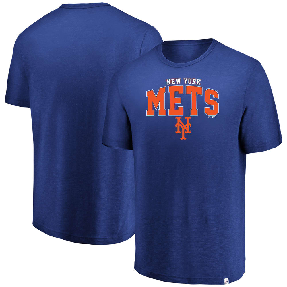 NEW YORK METS Men's Reckoning Day Hyper Slub Tee - ROYAL BLUE
