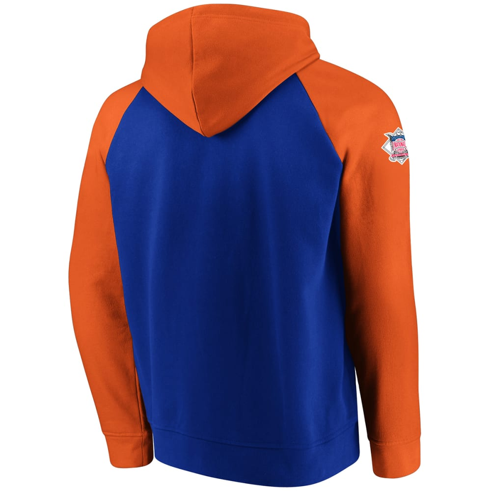 NEW YORK METS Men's With Attitude Pullover Hoodie - ROYAL BLUE