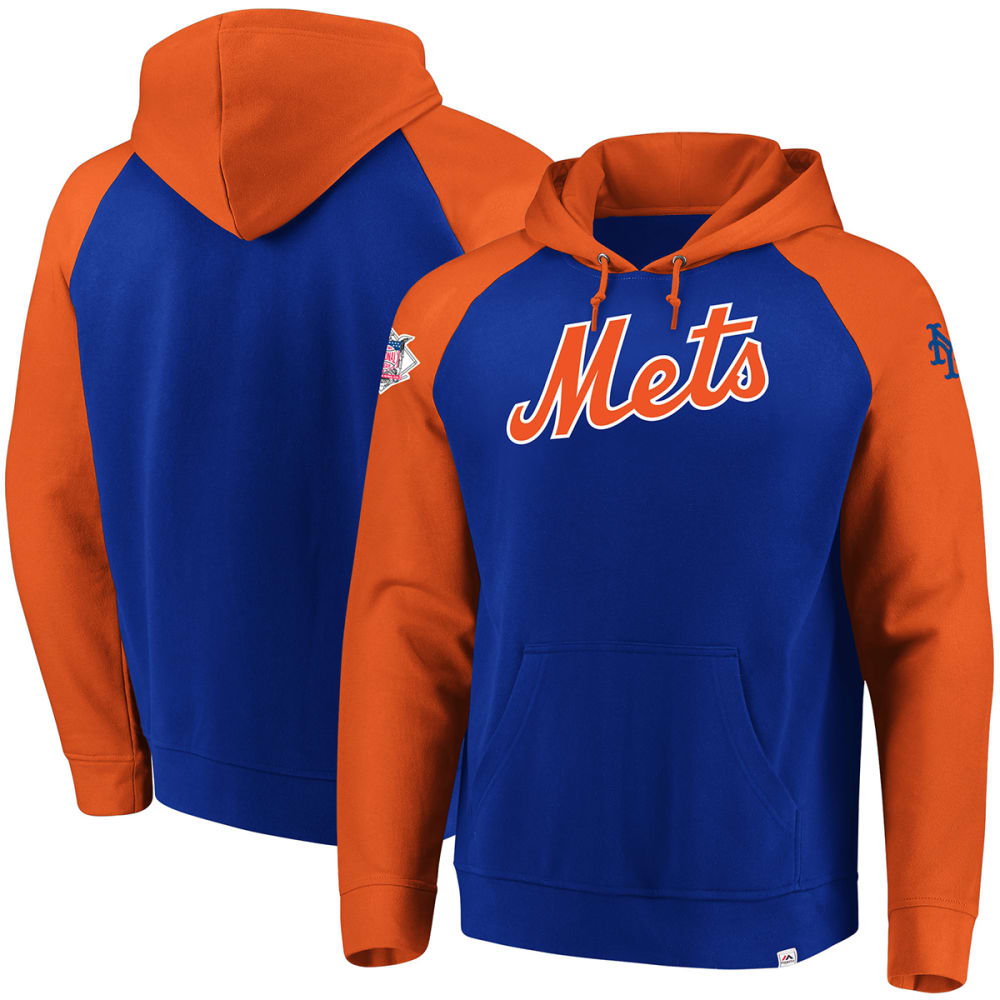 NEW YORK METS Men's With Attitude Pullover Hoodie M