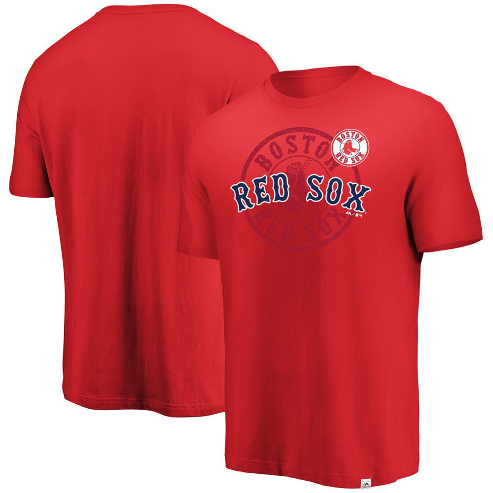 BOSTON RED SOX Men's Intense Action Short-Sleeve Tee - RED