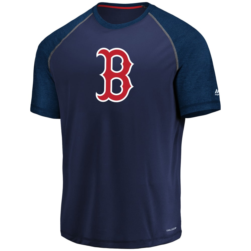 BOSTON RED SOX Men's Got the Word Poly Short-Sleeve Tee - NAVY