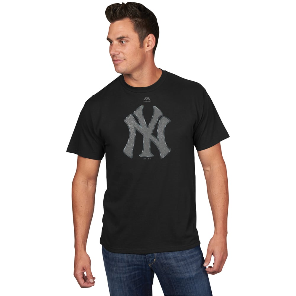 NEW YORK YANKEES Men's Game Day Battle Reflective Short-Sleeve Tee - BLACK