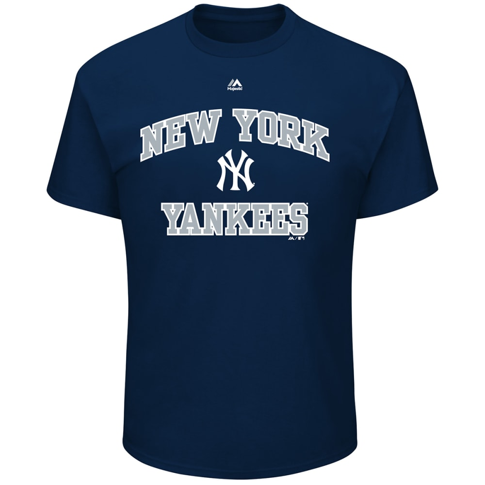 NEW YORK YANKEES Men's Heart and Soul III Short-Sleeve Tee - NAVY