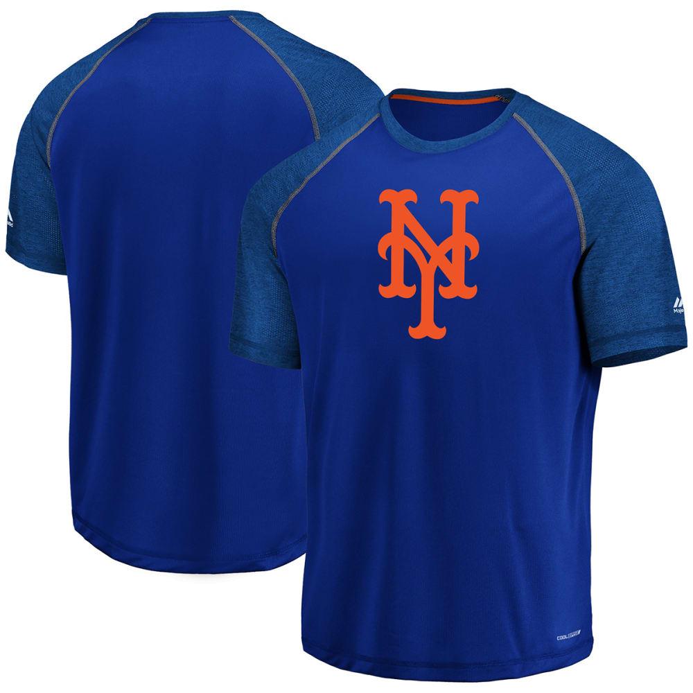 NEW YORK METS Men's Got the Word Poly Short-Sleeve Tee - ROYAL BLUE