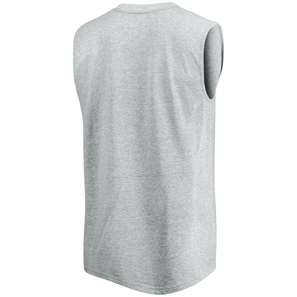 BOSTON RED SOX Men's Game Fundamentals Muscle Tee - GREY