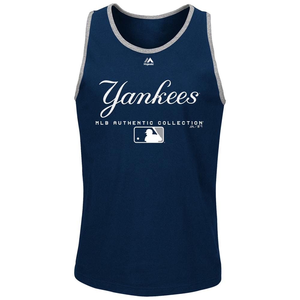 NEW YORK YANKEES Men's Authentic Team Drive Tank - NAVY