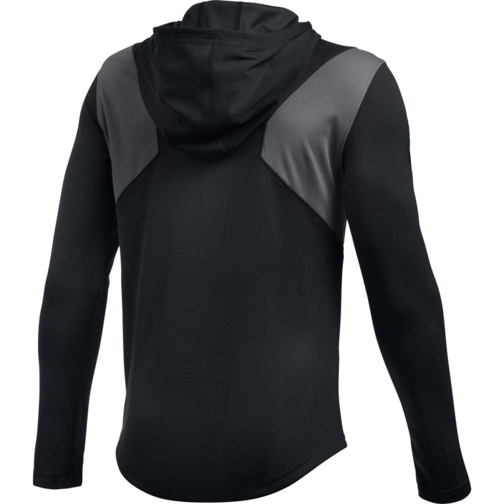 UNDER ARMOUR Boys' Select Shooting Long-Sleeve Shirt - BLACK-001