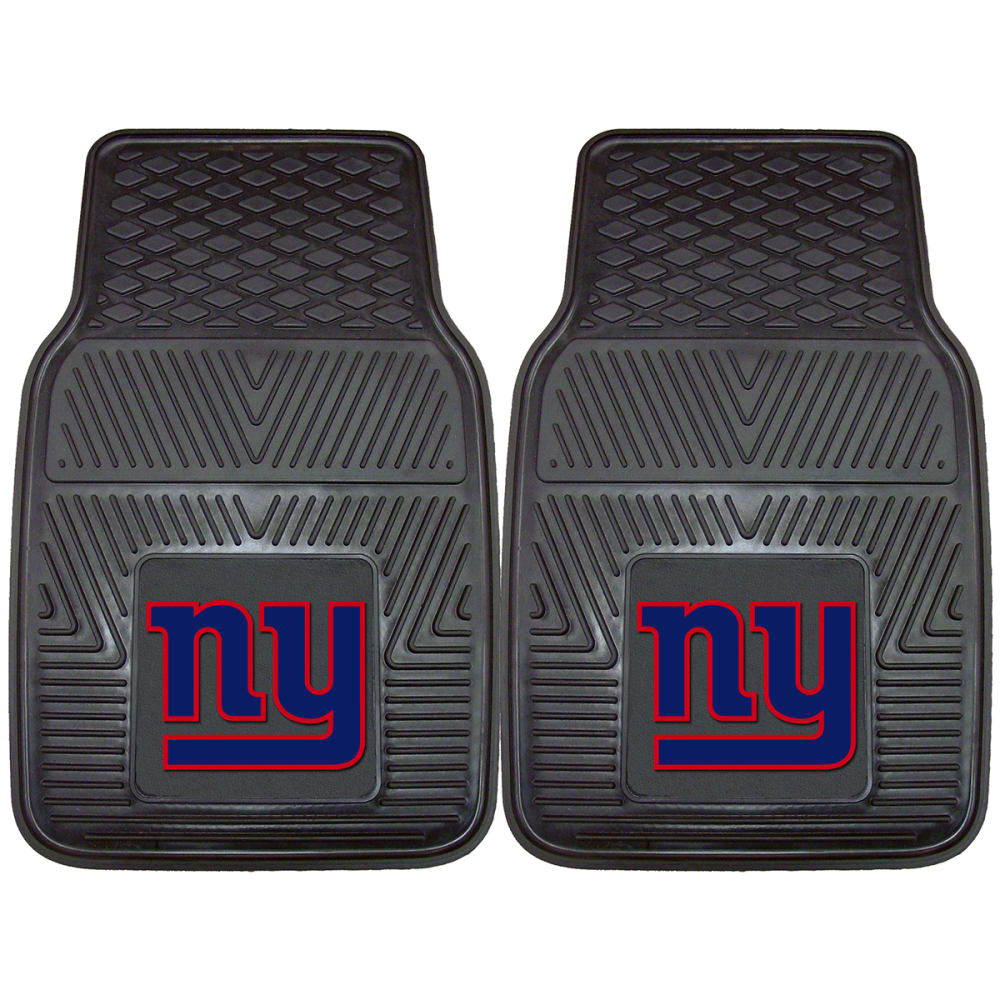 NEW YORK GIANTS Vinyl Car Mats, 2 Pack - NO COLOR