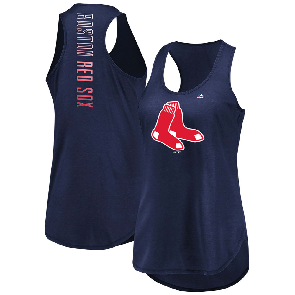 BOSTON RED SOX Women's Quest for the Best Racerback Tank Top - NAVY