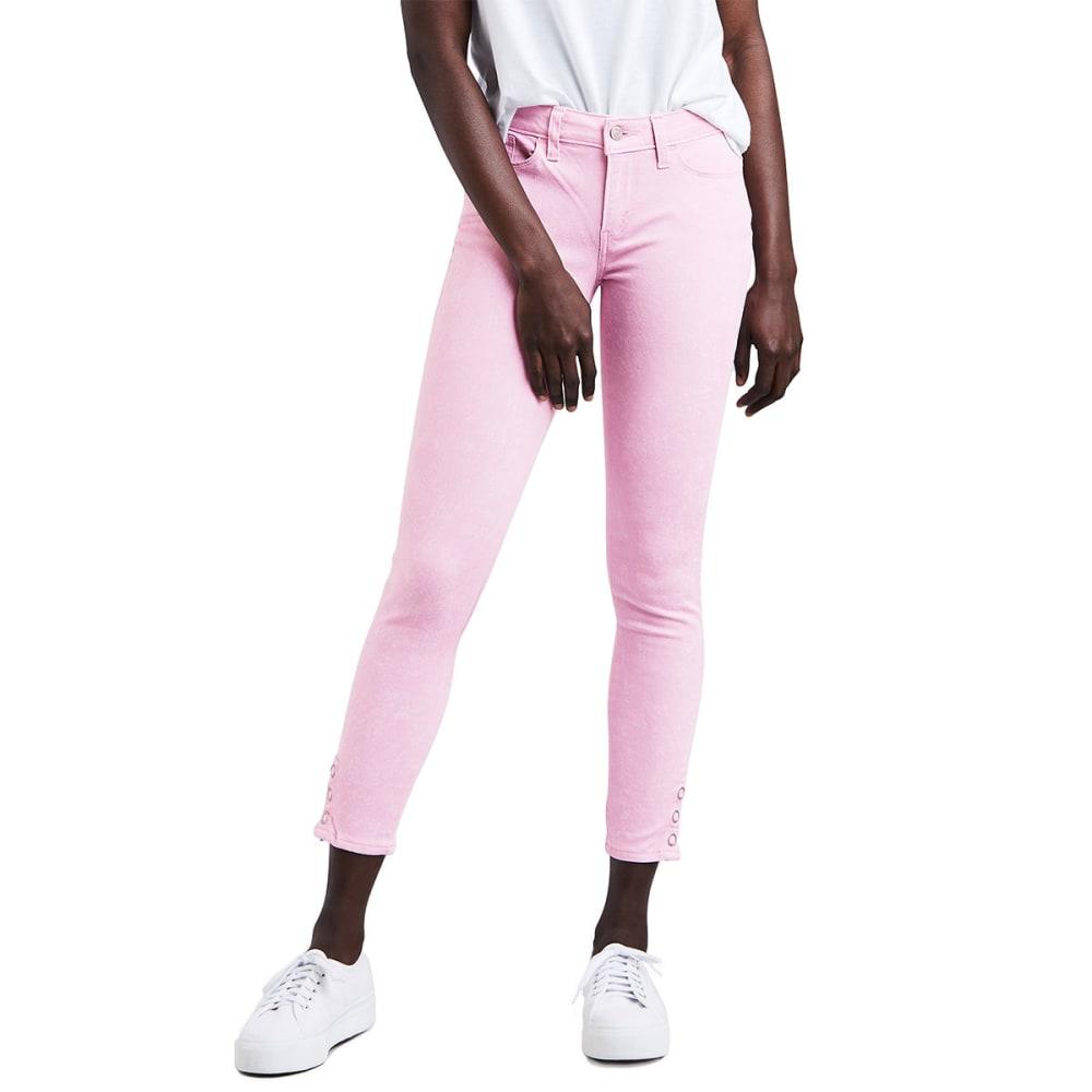 LEVI'S Women's 535™ Super-Skinny Ankle Jeans - 0002-ACID PINK LAVEN