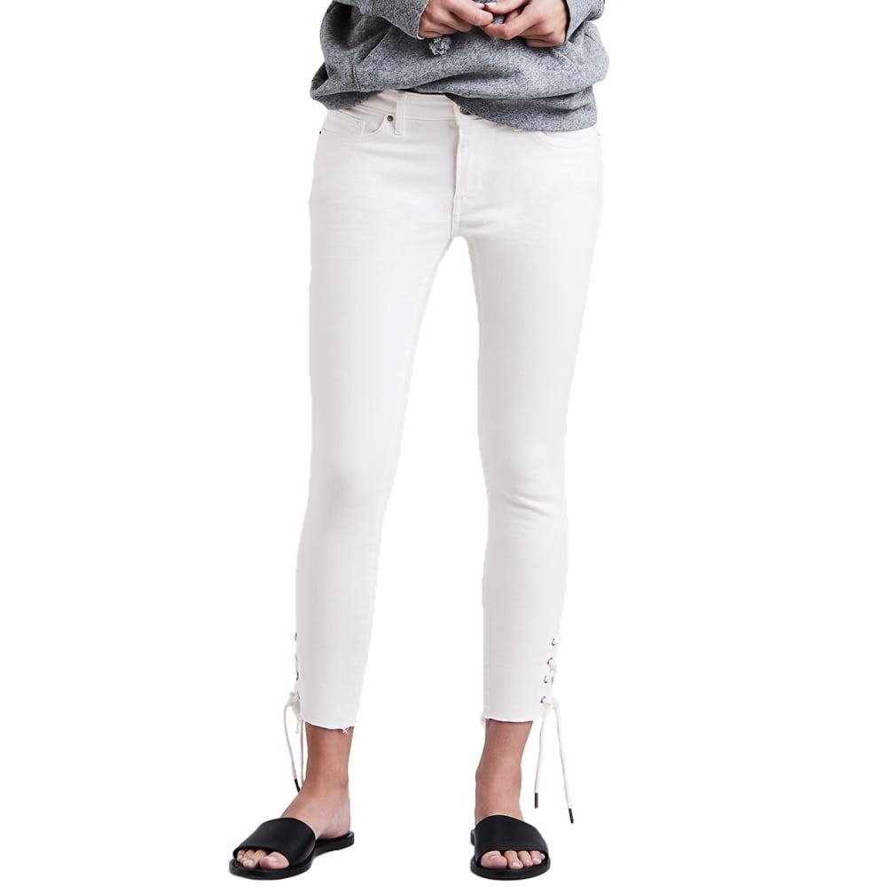 LEVI'S Women's 711 Lace-Up Skinny Jeans 30
