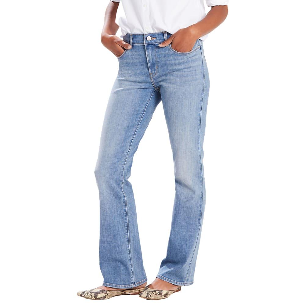LEVI'S Women's Classic Boot Cut Jeans - 0003-MEDIUM INTENSIT