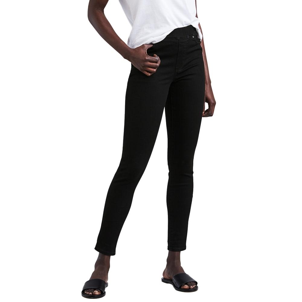 LEVI'S Women's Pull-On Leggings - 0001-DARK BLACK