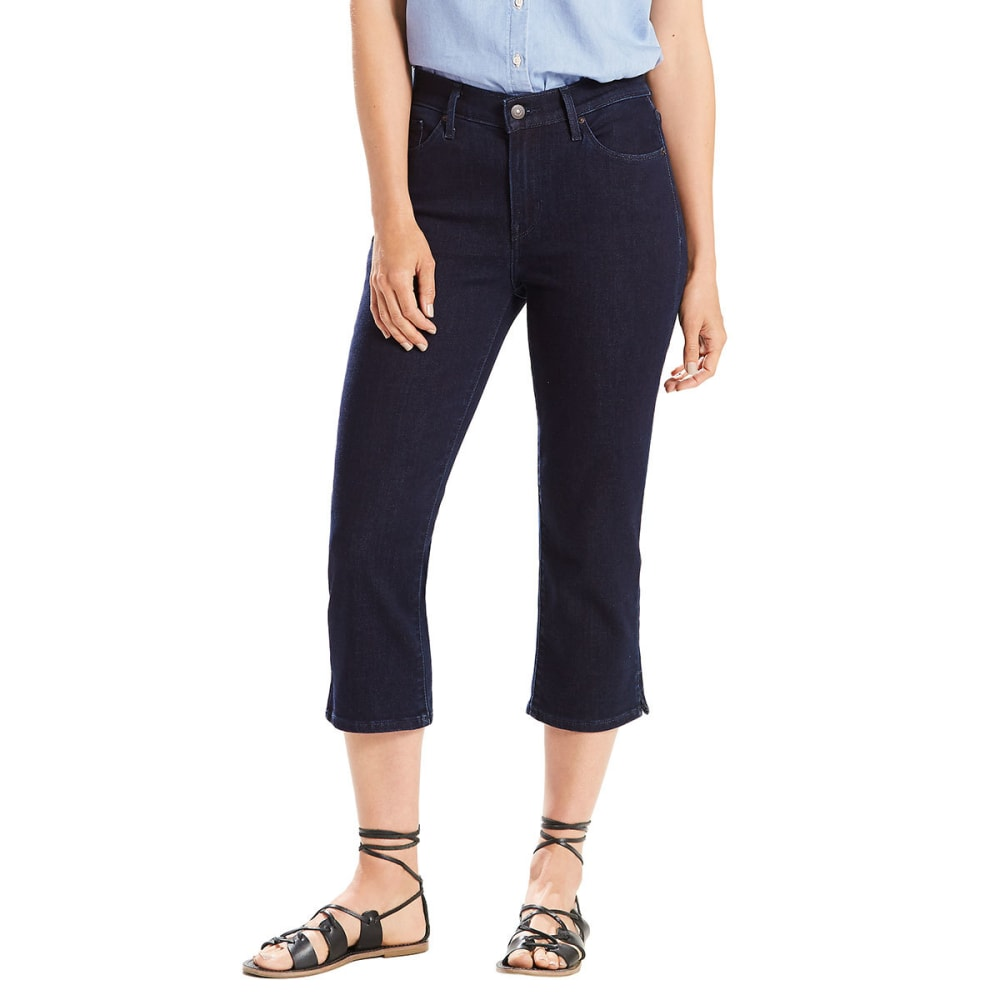LEVI'S Women's Classic Capri Pants - 0000-RINSE BLUES