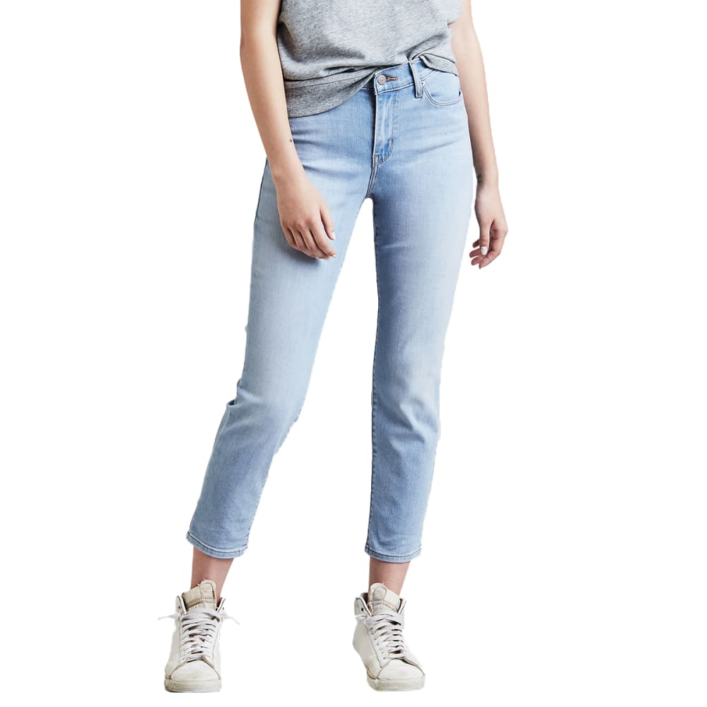 LEVI'S Women's Classic Crop Jeans - 0002-SEA DAISY DRIVE