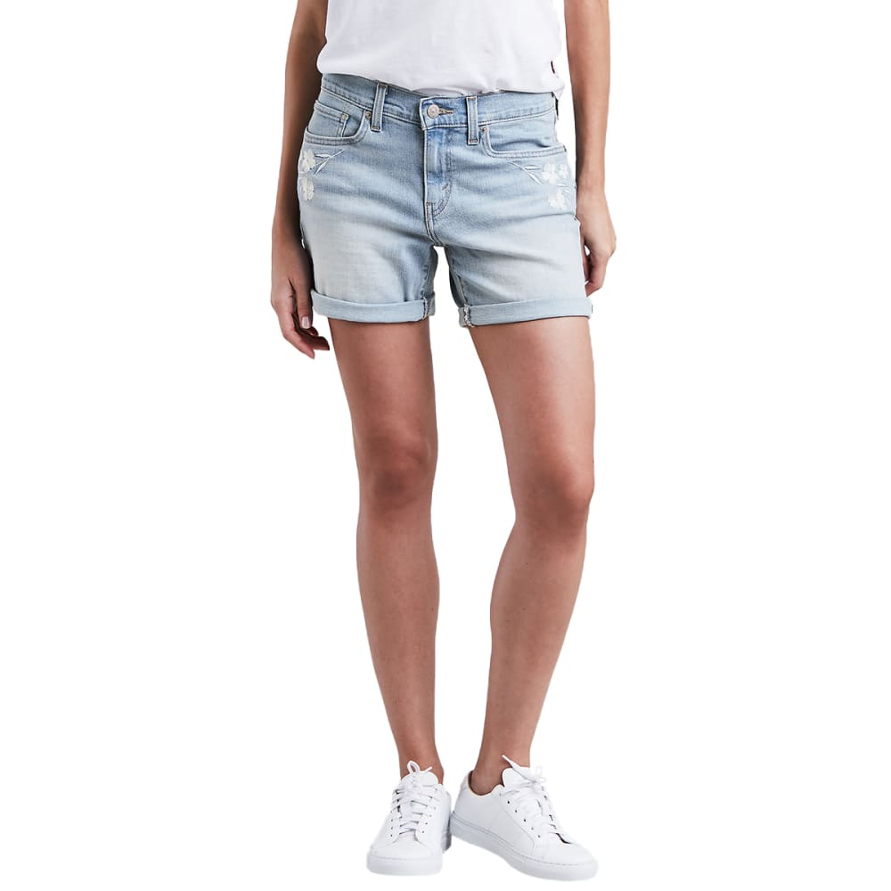 LEVI'S Women's Classic Shorts - 0007-MISTY WATERFALL
