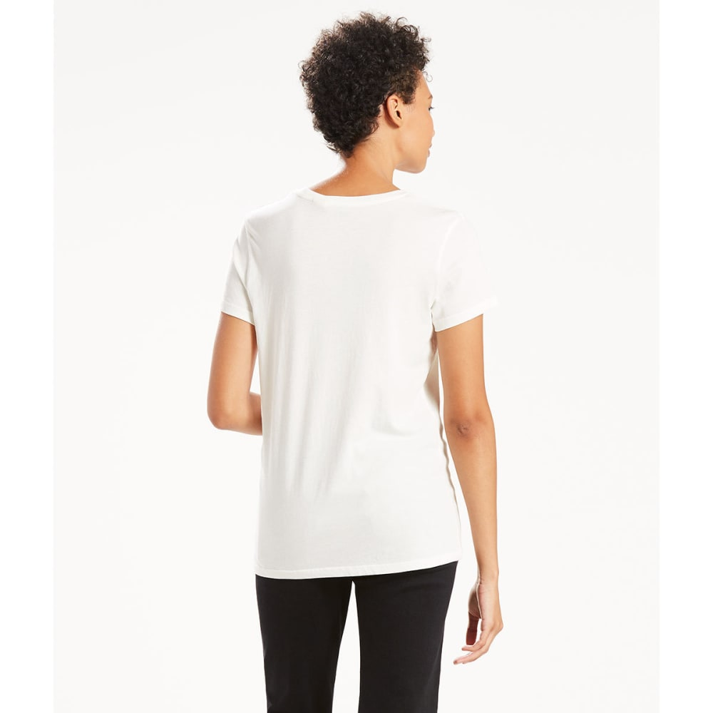 LEVI'S Women's Perfect Graphic Tee - 0051-JULY 4 CLOUD DA