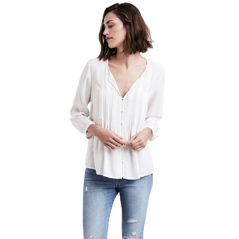 LEVI'S Women's Noelle Top - 0000-CLOUD DANCER