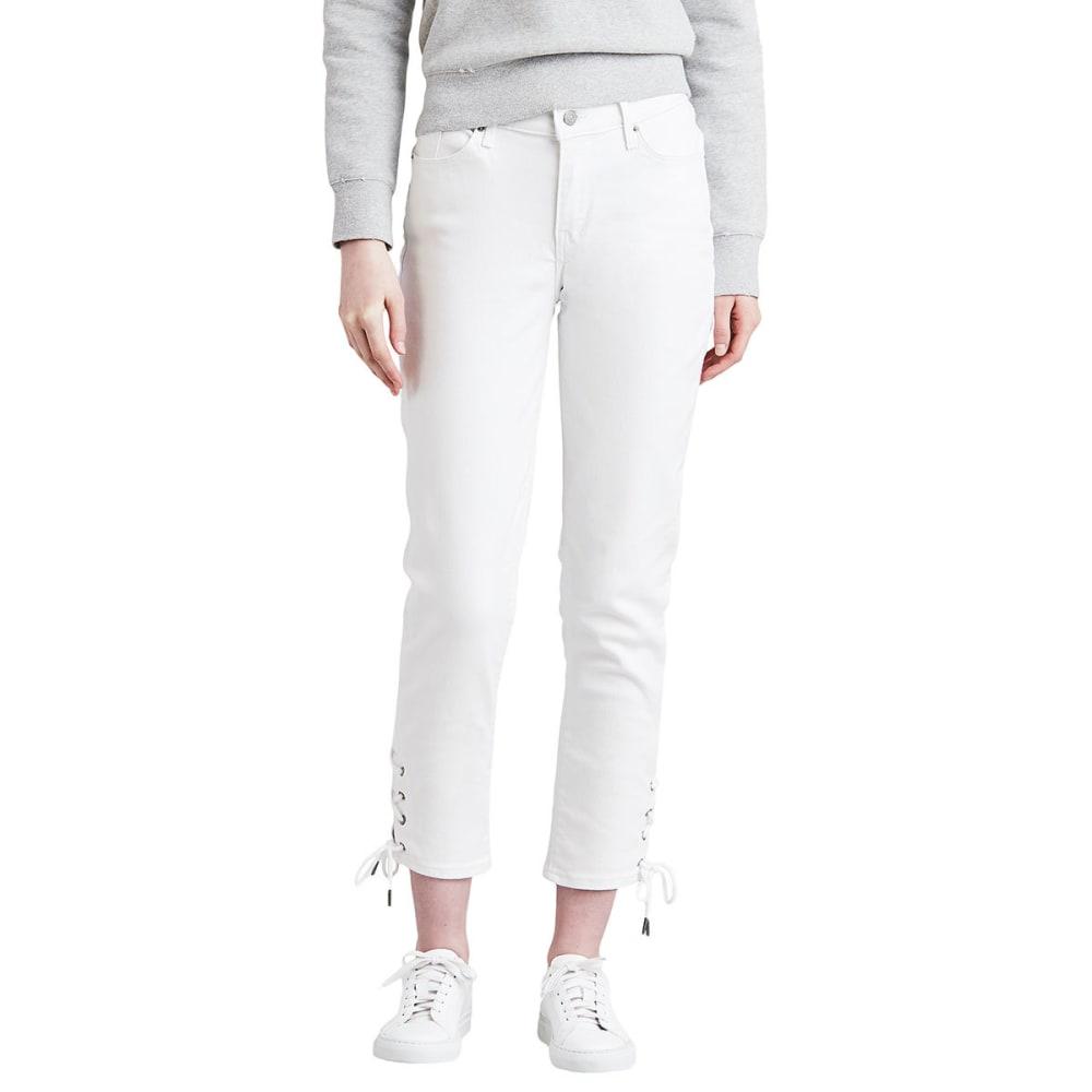 LEVI'S Women's Classic Crop Jeans - 0000-SOFT CLEAN WHIT