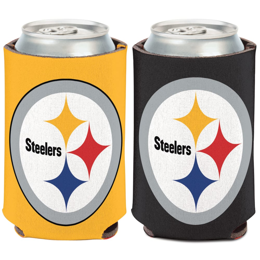 PITTSBURGH STEELERS 12 oz. Can Cooler - BLACK/YELLOW