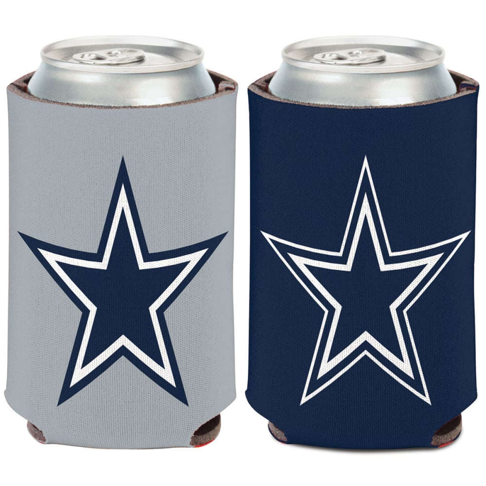 DALLAS COWBOYS 12 oz. Can Cooler - NAVY/SILVER