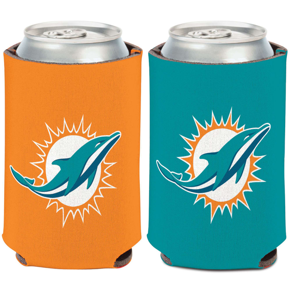 MIAMI DOLPHINS 12 oz. Can Cooler - TEAL/ORANGE