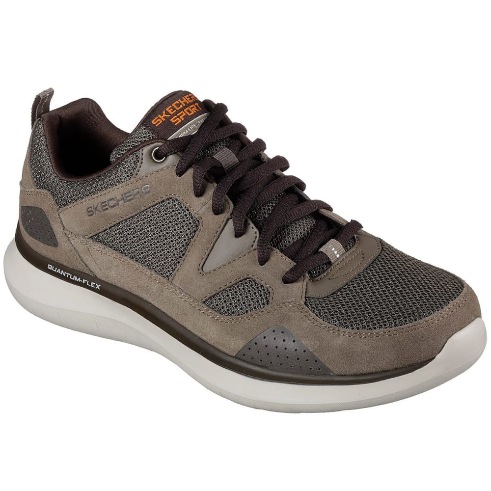 SKECHERS Men's Relaxed Fit: Quantum Flex - Country Walker Sneakers, Wide 8