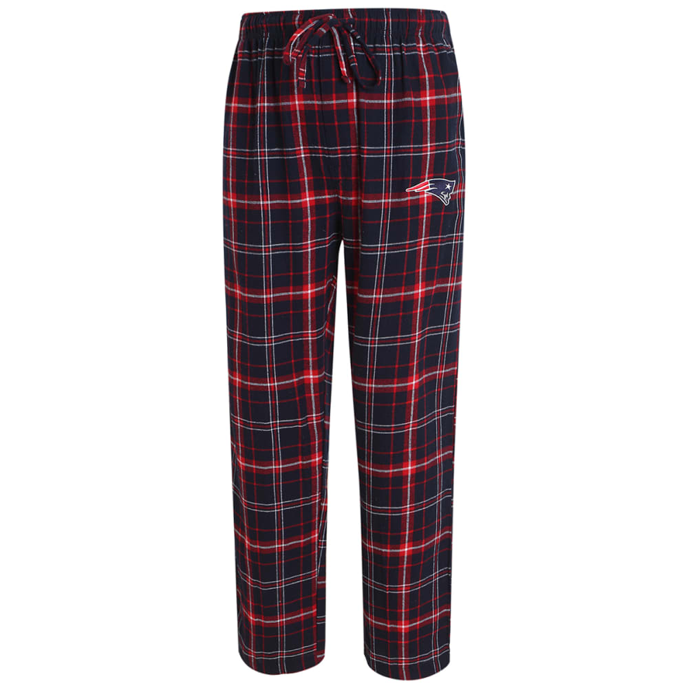 NEW ENGLAND PATRIOTS Men's Ultimate Flannel Lounge Pants - NAVY/RED