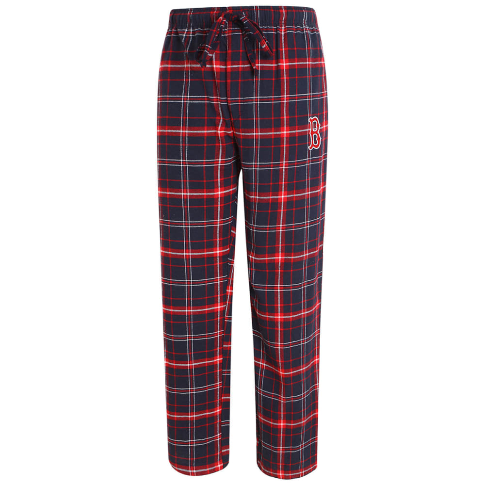 BOSTON RED SOX Men's Ultimate Flannel Lounge Pants - NAVY/RED
