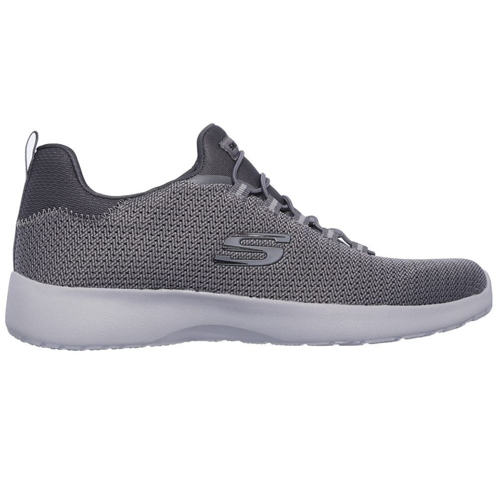 SKECHERS Men's Dynamight Sneakers, Charcoal, Wide - CHARCOAL