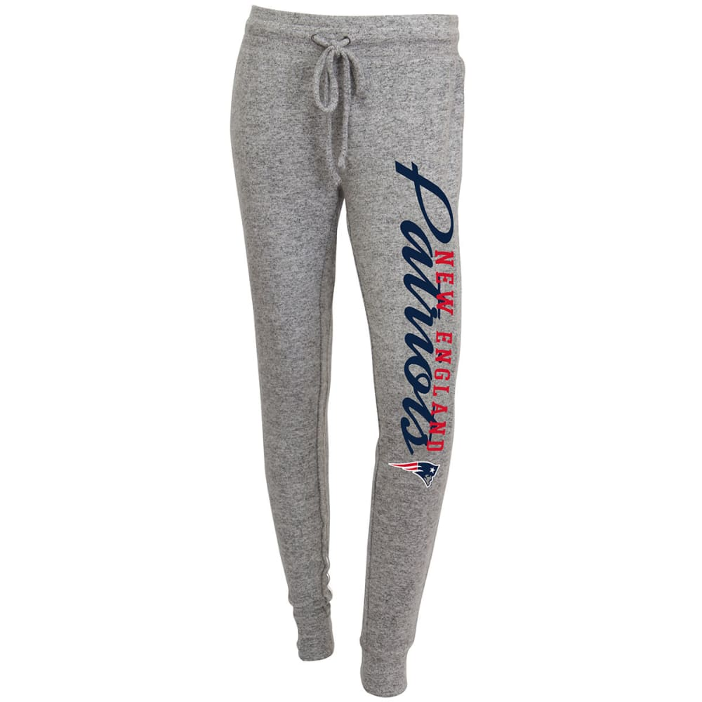 New England Patriots Women's Reprise Sweater Knit Pants - Black, S