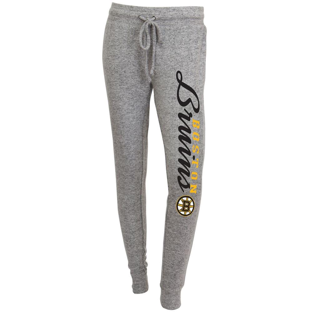 BOSTON BRUINS Women's Reprise Sweater Knit Pants - GREY