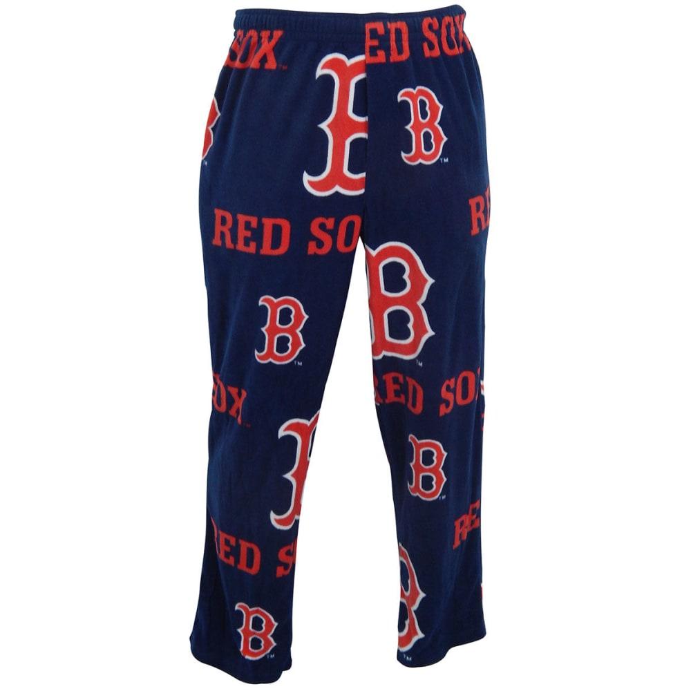 BOSTON RED SOX Men's Ramble Printed Fleece Pants - NAVY