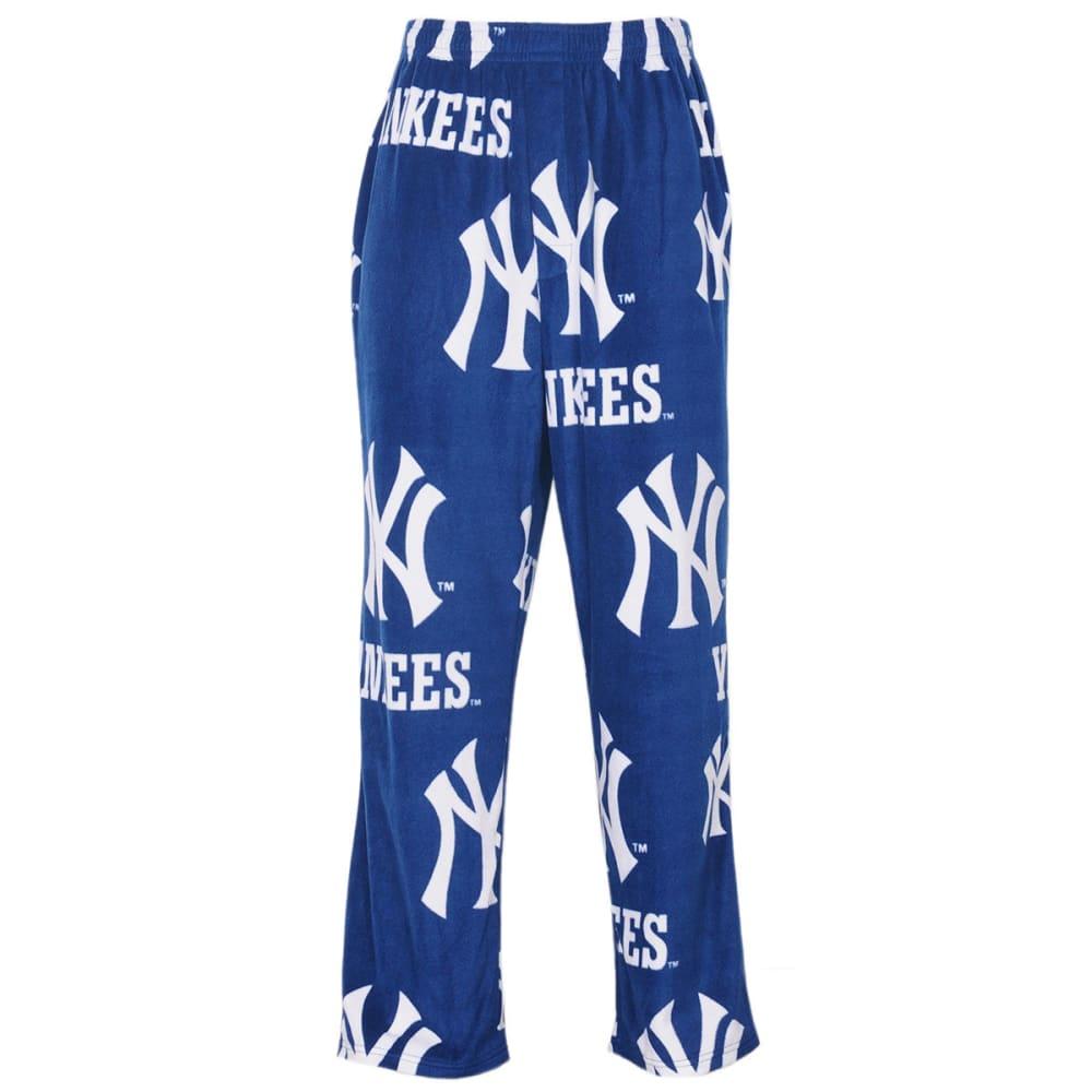 NEW YORK YANKEES Men's Ramble Printed Fleece Pants - NAVY