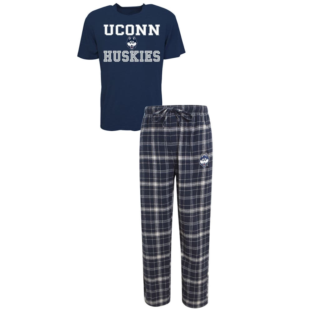 Uconn Men's Halftime Sleep Set - Blue, M